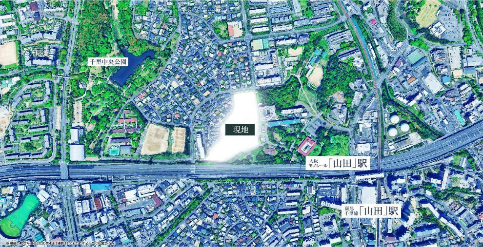 現況写真 現地周辺空撮写真(20年4月撮影)