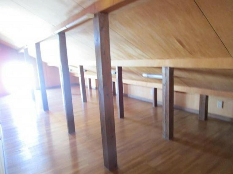 収納 【リフォーム中】2階の屋根裏部屋です。