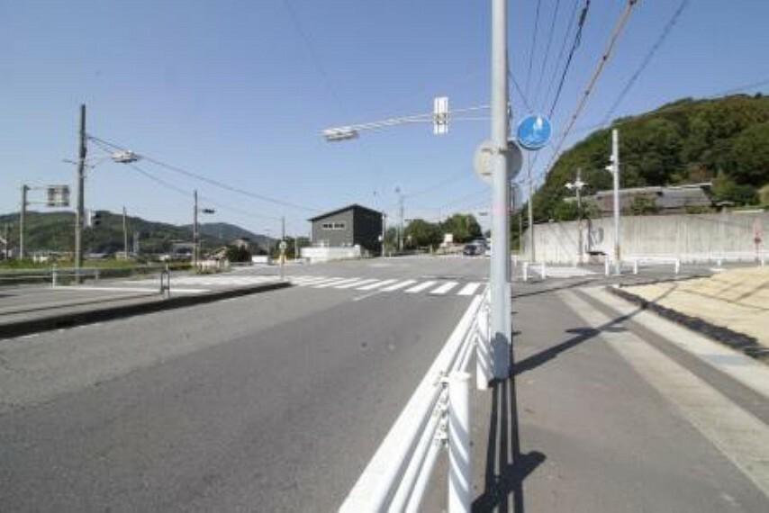 外観・現況 全面道路は綺麗に整備されています! 幅員約23m!