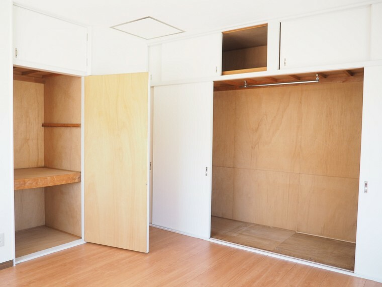 収納 収納 2階の洋室は全室クローゼット付き  お部屋がスッキリお使いいただけます