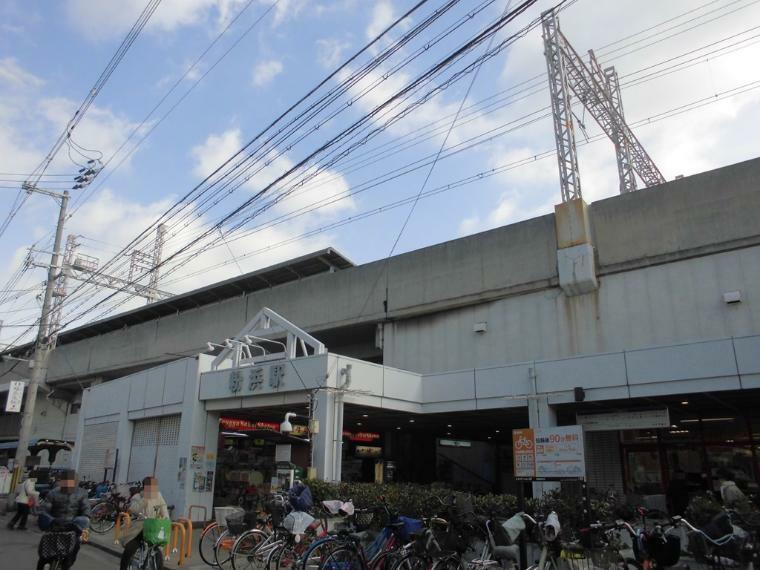 周辺の街並み 南海本線 粉浜駅