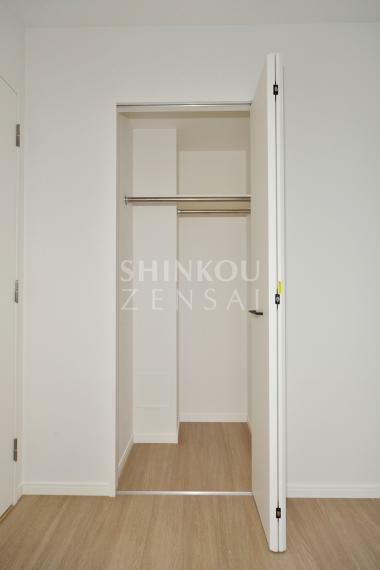 収納 洋室(2) クローゼット ※同タイプ参考写真/一部仕様内装カラーは実際と異なります