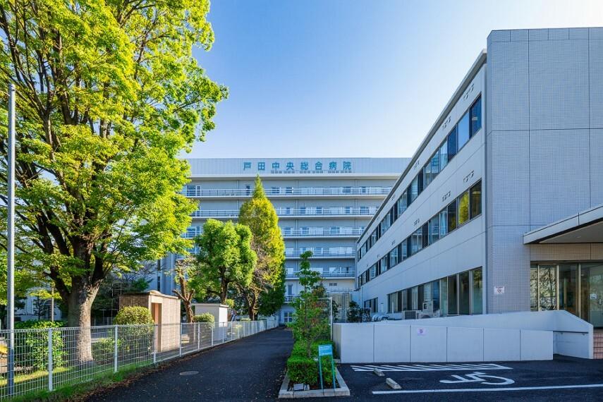 病院 戸田中央総合病院(徒歩14分)