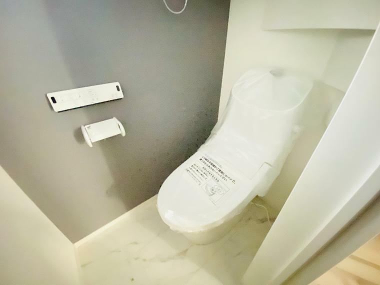 トイレ シャワー機能付トイレです