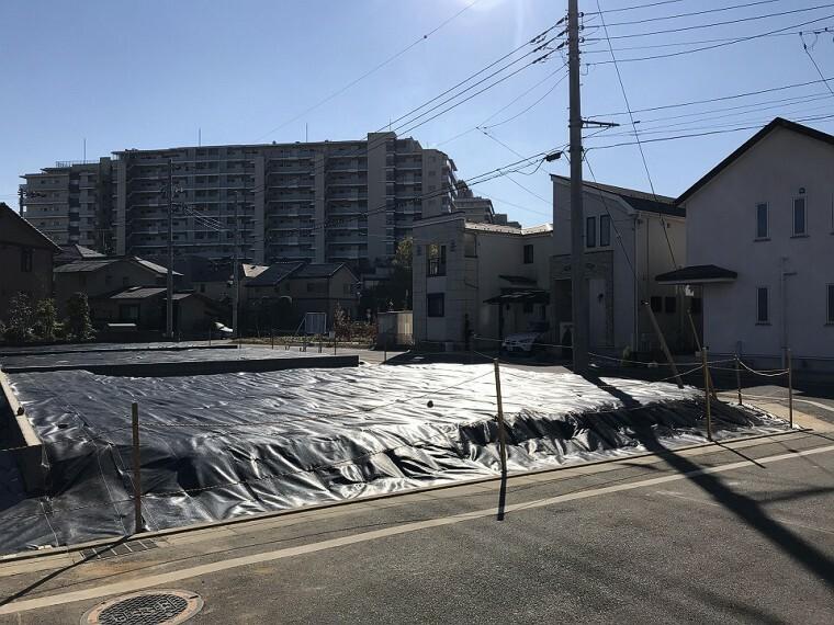 現況写真 ■6号地■2世帯住宅も可能です。 敷地面積:172.54平米(約52.19坪)/5850万円 2020年12月撮影(分譲済区画を含みます。)