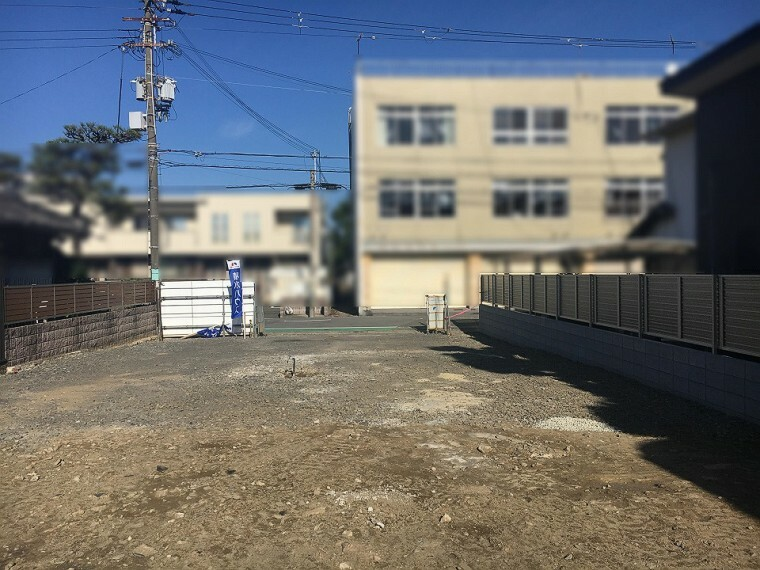 現況写真 現地土地写真 78坪超のゆとりの敷地。 令和2年11月撮影