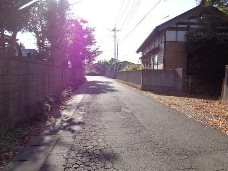 現況写真 前面道路1