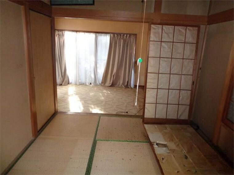 1F北西側和室洋室1
