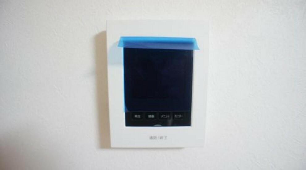 モニター付きインターホン 来客者を確認できるTVモニタ付インタホン