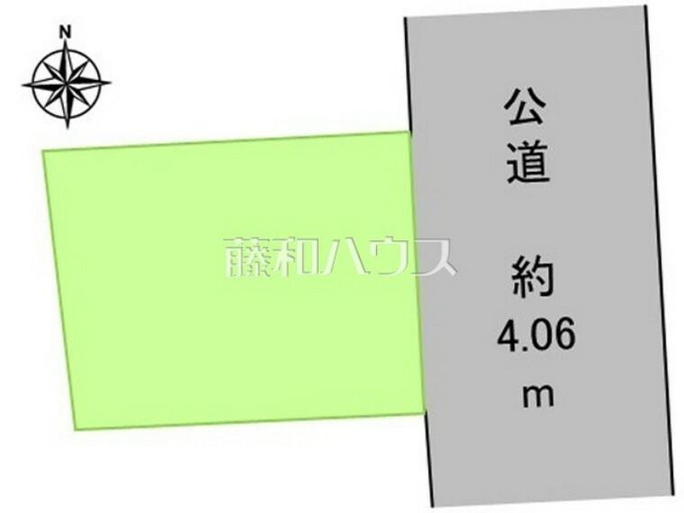 区画図 区画図 【世田谷区桜丘4丁目】