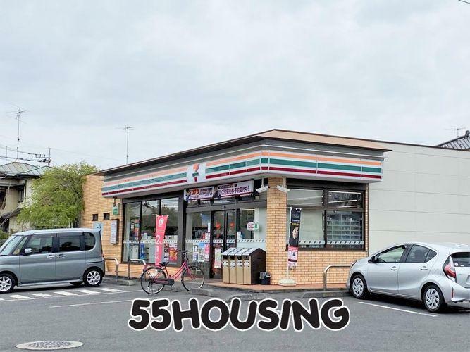 コンビニ セブンイレブン白岡小久喜店 徒歩8分。