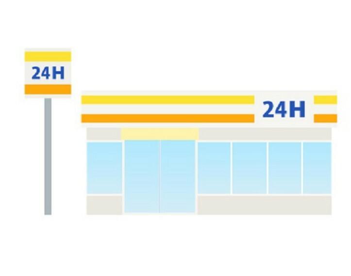 コンビニ 【コンビニエンスストア】セブン‐イレブン 甲府中央店まで468m