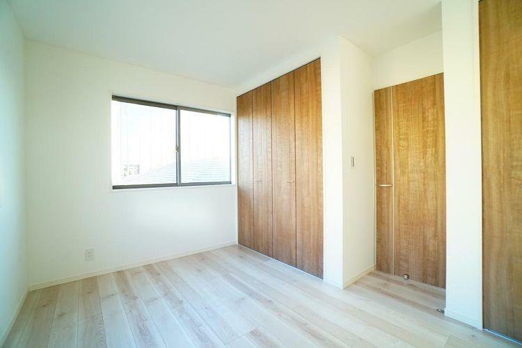 家具などを配置しやすい整形のお部屋