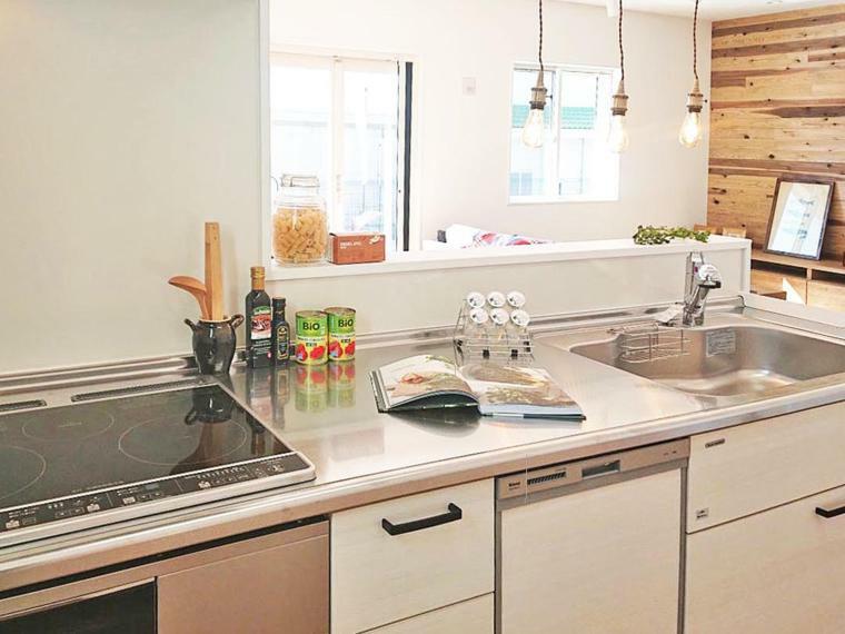 キッチン キッチン施工例 人気の対面キッチン
