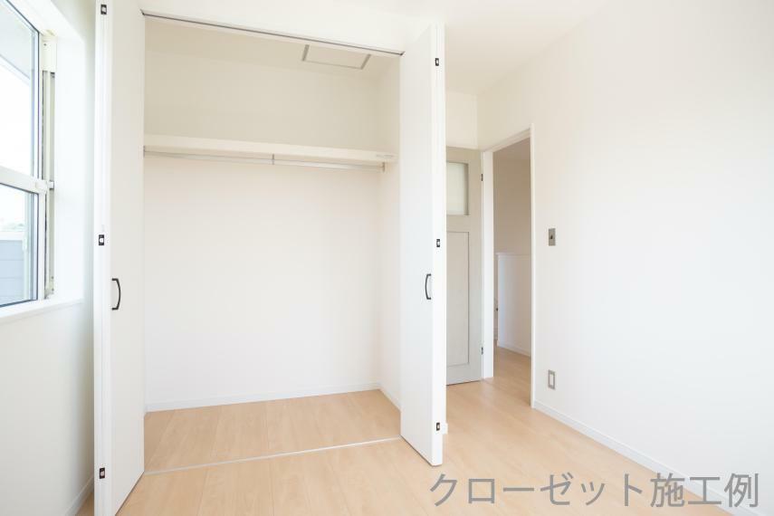 収納 施工例 2階居室クローゼット