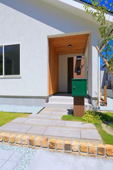現況外観写真 自然と暮らす新しい住まいのカタチ「いごこ家」