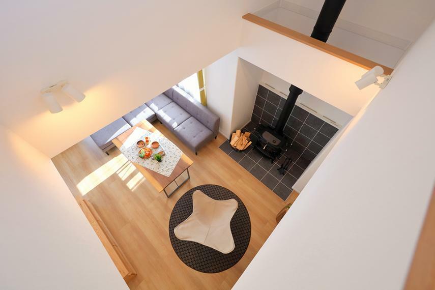 ダイニングキッチン 「薪ストーブのある家」モデルハウス公開中