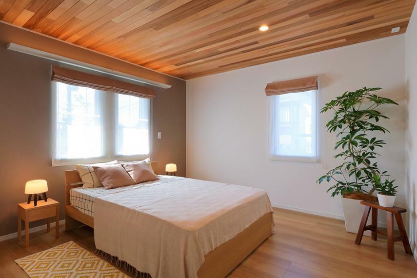 寝室 1階で生活動線完結のユニバーサルプラン