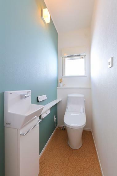 トイレ 1階で生活動線完結のユニバーサルプラン