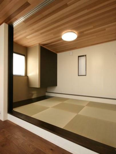 和室 【和室】 天井の杉板がアクセントとなった6帖のモダンな和室。