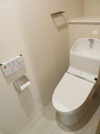 トイレ 温水洗浄便座付トイレでいつも清潔に!