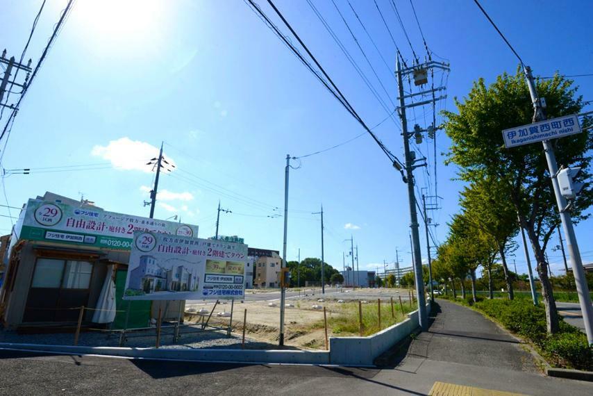 現況写真 京阪本線「光善寺」駅徒歩約17分(約1340m)に全29区画のビッグタウンが誕生。(2020年10月)撮影