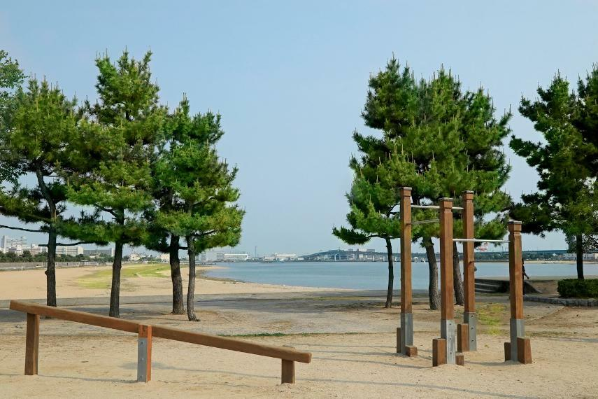 公園 県立甲子園浜海浜公園