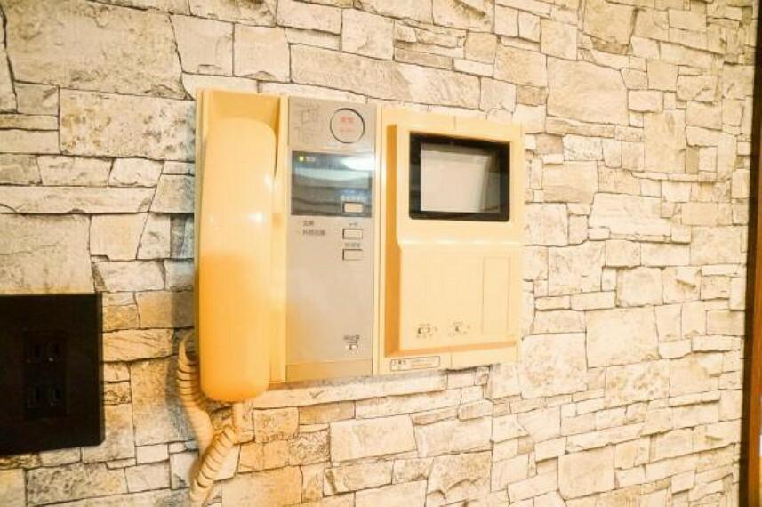 TVモニター付きインターフォン カラーモニター付きインターホン