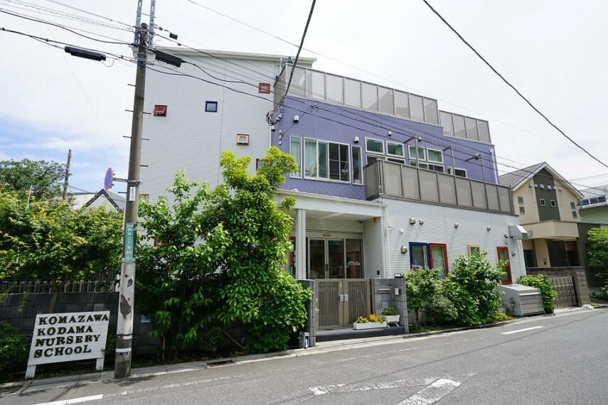 幼稚園・保育園 駒沢こだま保育園(徒歩8分)