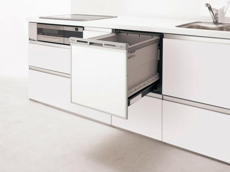 参考プラン完成予想図 食器洗い乾燥機 1.家事を減らし「家族時間」をもっと楽しく。 2.家事の時短、節水に効果あり、手荒れ対策にも。 3.食器洗いの時間が家族とのくつろぎタイムに。