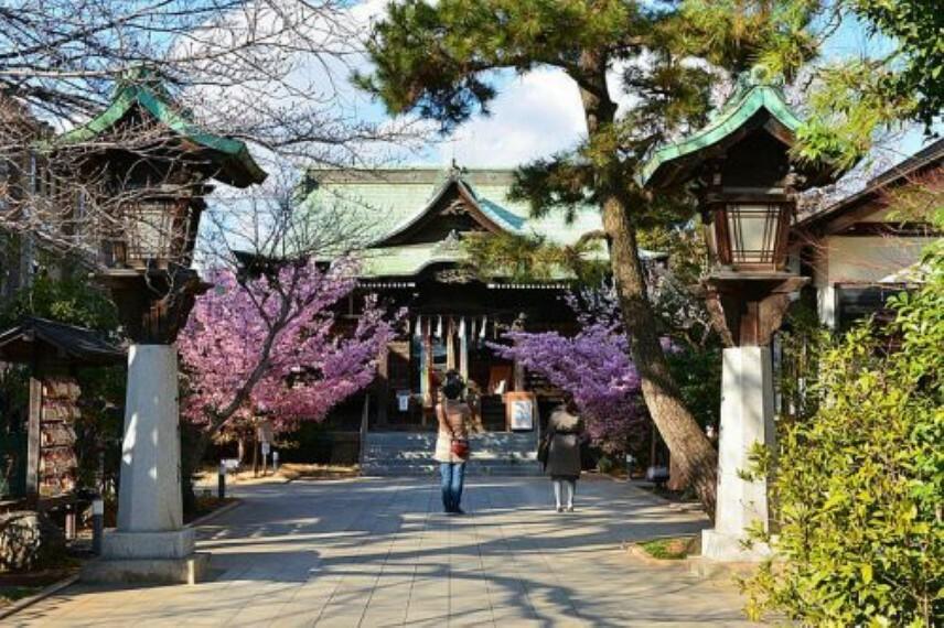 【寺院・神社】桜神宮まで744m