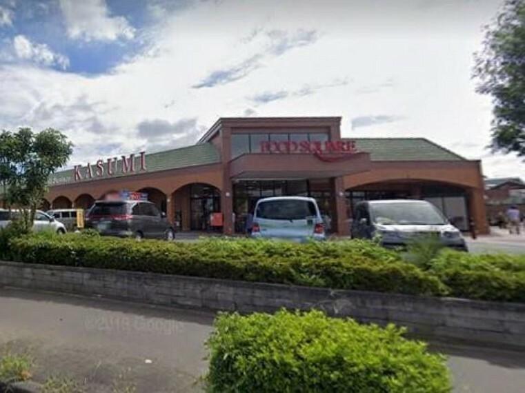 スーパー カスミフードスクエア水戸見川店(スーパーも近くて便利ですね!)