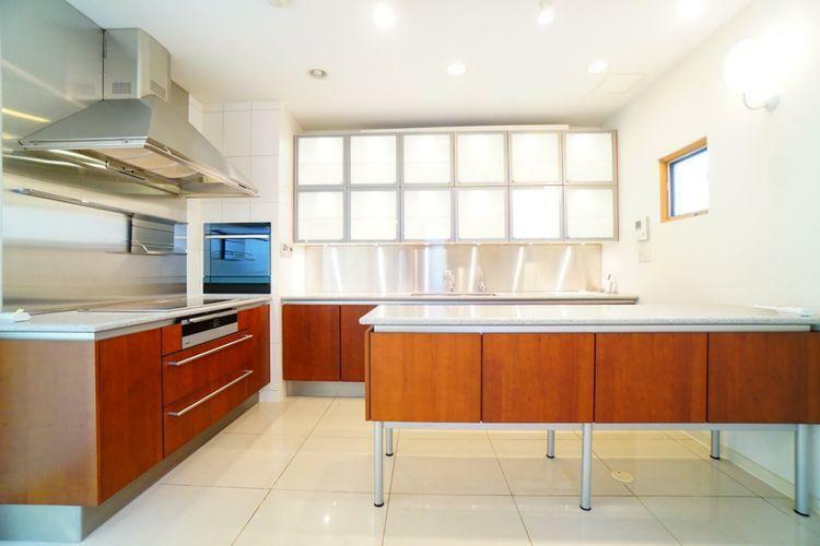 キッチン キッチン周りから光が入ることで、お料理がさらに美味しく見えること間違いなし!