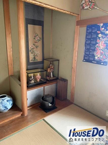 和室 平家なので、階段の上り下りもなく生活しやすいです  将来的にも安心で地震にも強いですね!