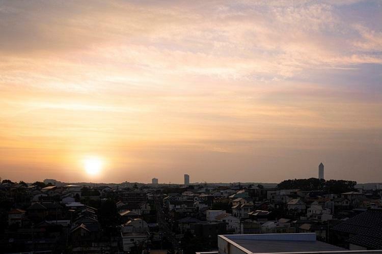 現況外観写真 現地から東側の眺望写真(2019年10月撮影)