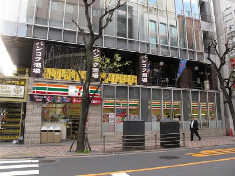 コンビニ 【コンビニエンスストア】セブン-イレブン 赤坂2丁目店まで597m