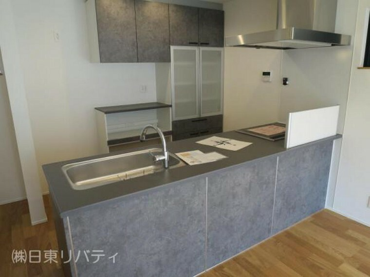 キッチン オシャレなオープンキッチンには食洗機を完備。