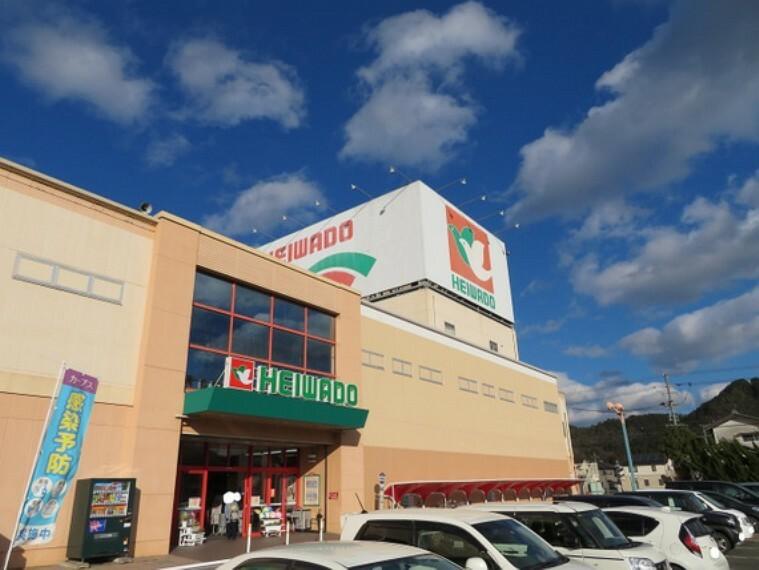 ショッピングセンター 平和堂高富店まで徒歩約22分。(約1700m)