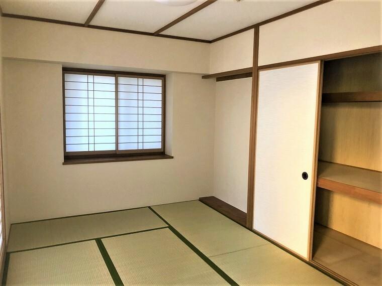 和室 あるとうれしい寛ぎの和空間