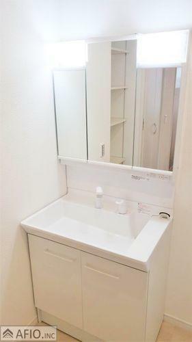洗面化粧台 施工例写真