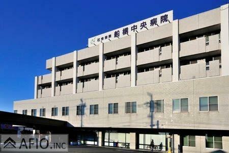 病院 船橋中央病院 徒歩11分。