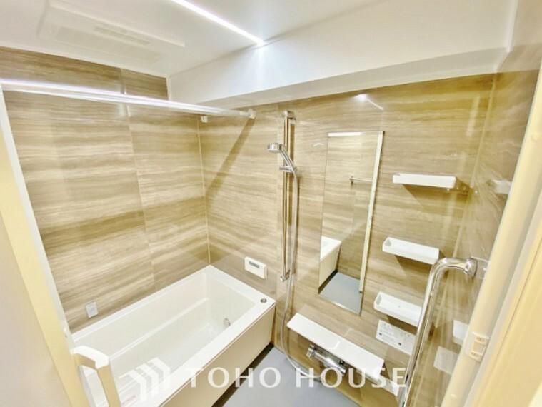 浴室 「リフォーム済・浴室」ユニットバスを新しく入れ替えしております。もちろん追い炊き給湯器と浴室乾燥機付きで機能性にも優れた快適なバスルームになっています。