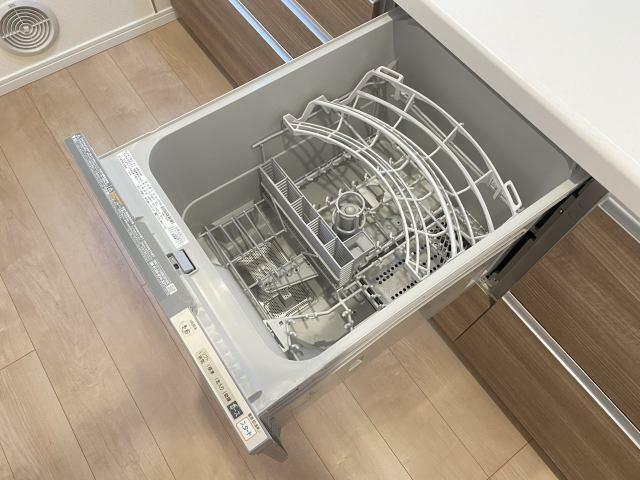 キッチン 食洗機付き ラクラク洗浄