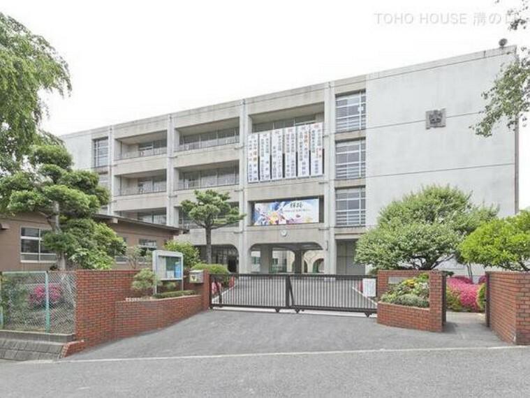 川崎市立野川中学校 距離800m
