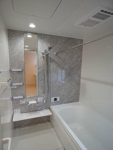 浴室  おしゃれなお風呂で一日の疲れを癒しましょう 令和3年1月28撮影