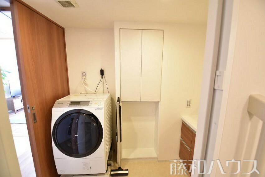 洗面化粧台 洗面室 リネン庫付 【ザ・パークハウス相生山】
