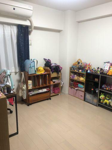 子供部屋 安堵感が生まれる居室です