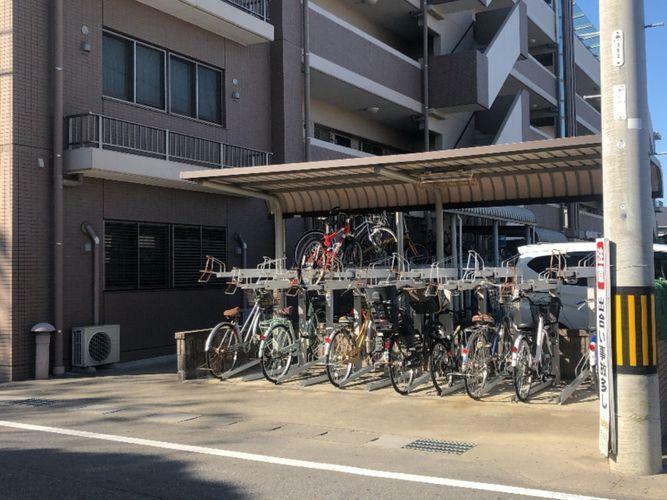 駐輪場 自転車専用置場になります