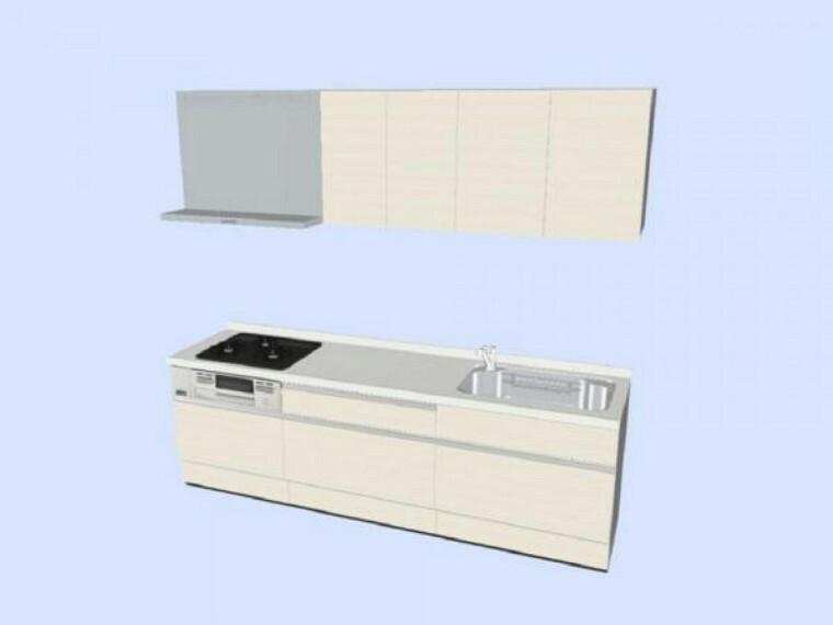 キッチン 現在リフォーム中。ハウステック製システムキッチンを新設予定です。