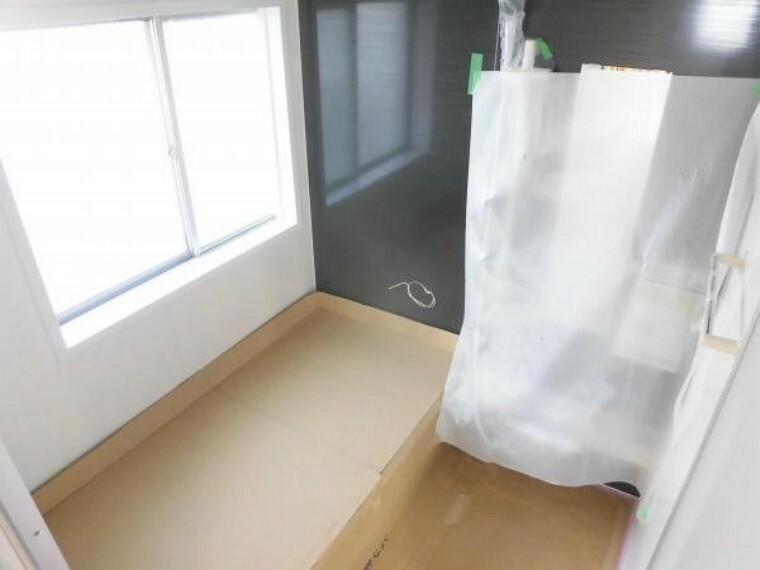 浴室 現在リフォーム中。ハウステック製一坪タイプユニットバスを新設予定です。